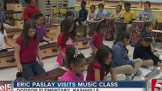 Eric Paslay Visits Elementary School - Video