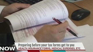 Preparing before your tax forms get to you - Video