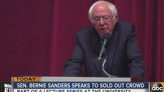 Sen. Bernie Sanders makes pitch to millenials during stop in Baltimore - Video