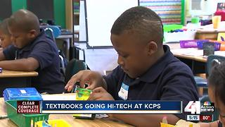KCPS students to move from textbooks to digital 'techbooks' this fall - Video