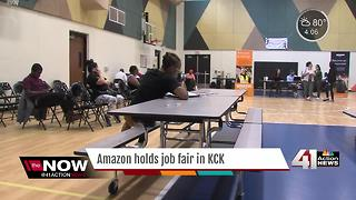 New Amazon Fulfillment Center to fill 1,000 positions - Video