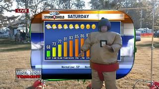 Cameron's Weather Roadshow at Oconto Copperfest! - Video