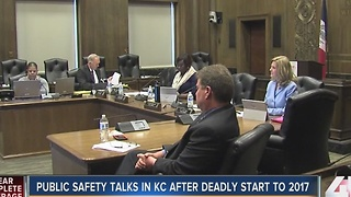 Public safety talks in KC after deadly start to 2017 - Video