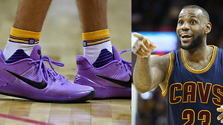 LeBron James Comments on Lonzo Ball Ditching ZO2's for Kobe Bryant's Nikes - Video