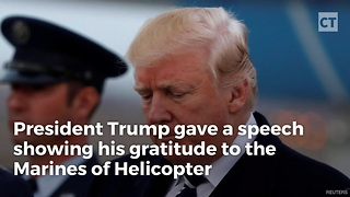 Donald Trump Shakes Up Military With Special Announcement About Marine One Chopper - Video