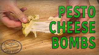 Pillsbury biscuit pesto cheese bombs - Video