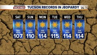 Chief Meteorologist Erin Christiansen's KGUN 9 Forecast Thursday, June 15, 2017 - Video