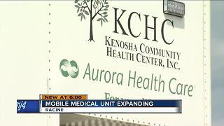 Mobile medical unit hitting the streets of Racine - Video
