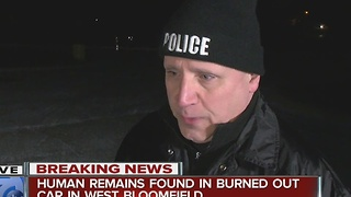 Human remains found in West Bloomfield - Video