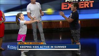 Ask the Expert: Fun exercises for kids - Video