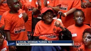 Local Woman Turns 103 Yrs Old - Video