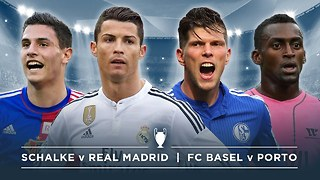 UCL PREVIEW: SCHALKE v REAL MADRID, FC BASEL v PORTO |  #FDW UEFA Champions League Preview - Video