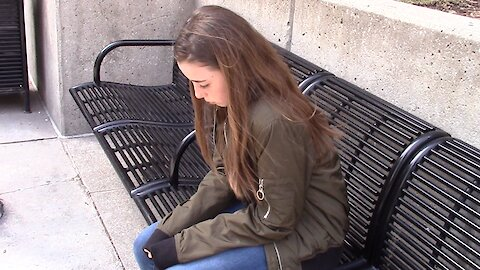 Social experiment: Would you help an abandoned child?