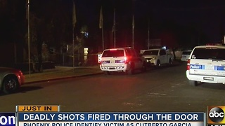Police ID man gunned down in Phoenix - Video