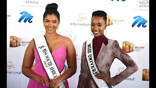 Miss Universe Zozibini Tunzi and Miss South Africa Sasha-Lee Laurel reunite