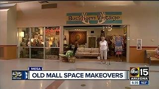 Old mall space makeovers happening around the Valley - Video