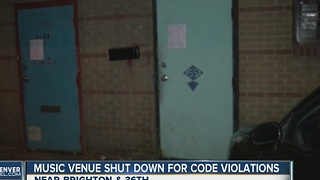 Several fire-code violations leads to warehouse eviction in RiNo district - Video