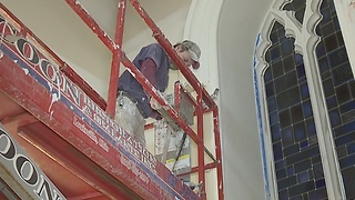 Massillon church damaged in fire set to reopen Christmas Eve - Video