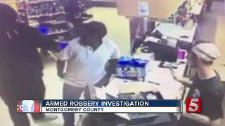 Montgomery Co. Deputies Search For Armed Robbery Suspect - Video