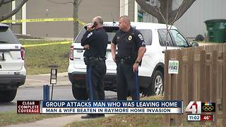 Masked men attack Raymore couple at their home, police say