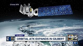 Orbital ATK expands in Gilbert - Video