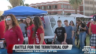 UA - ASU Tailgating for Rivalry Week 2016 - Video