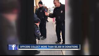 Caldwell Police ring bells for charity - Video
