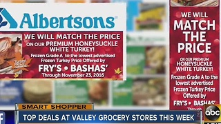 Here's the best grocery store deals ahead of Thanksgiving Day - Video
