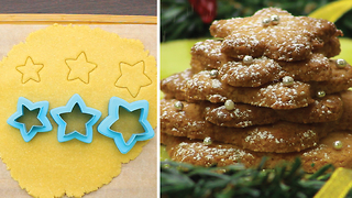 Star-shaped cookies - Video