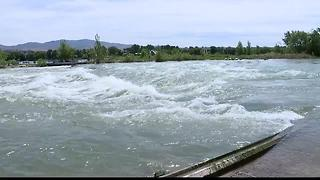 Whitewater Park waves: About half way to go - Video