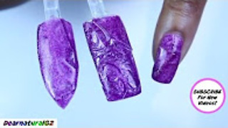 How to 3D textured gel nail art hack | Dearnatural62 - Video