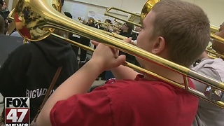Local high school band prepares for D.C. performance - Video
