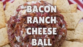 Delicious recipes: Cheesy bacon ranch ball - Video