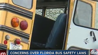 Following Chattanooga deadly school bus crash, there are now concerns over Florida bus safety laws - Video