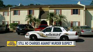 Man shot dead outside Tampa apartment, girlfriend's son in custody