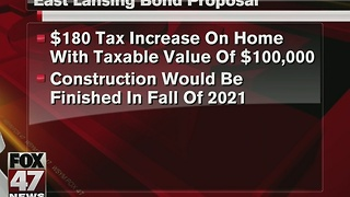 East Lansing residents will vote on school bond next May - Video