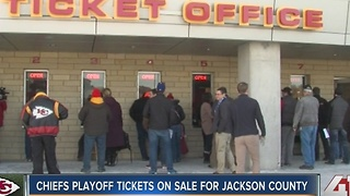 Chiefs playoff tickets on sale for Jackson County - Video