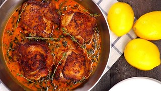 One-Pan Lemon Butter Chicken - Video