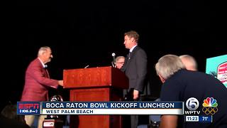 Boca Raton Bowl Luncheon - Video