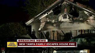 Quick response to smoke detectors saves family of 5 from house fire