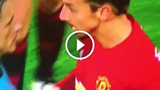 VIDEO: Zlatan removes the ref's arm... - Video