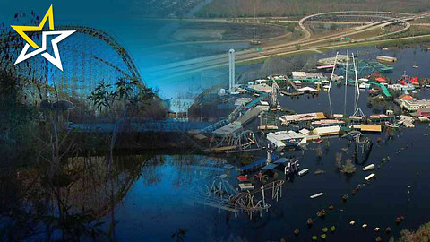 10 Years After The Destruction Of Hurricane Katrina This Six Flags Still Remains Abandoned