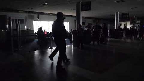 Video Shows Walk Through Atlanta Airport During Power Outage