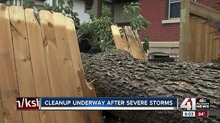 Metro neighborhoods recovering from stom damage - Video