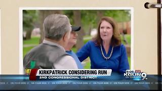 Former Rep. Ann Kirkpatrick considers another run for Congress - Video