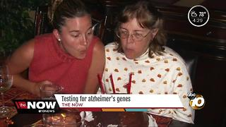 Testing for Alzheimer's genes - Video