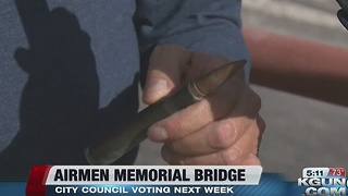 Tucson City Council to approve commemorative naming of the Kolb and Sabino Canyon Road Bridge - Video
