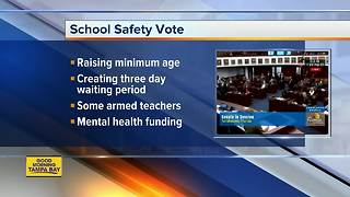Florida lawmakers debate school-safety bill - Video