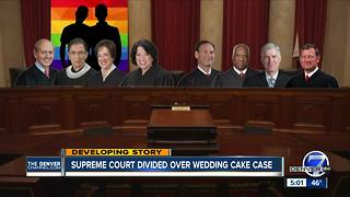 Kennedy wrestles with Colorado wedding cake case at Supreme Court - Video