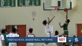 High School basketball back in action
